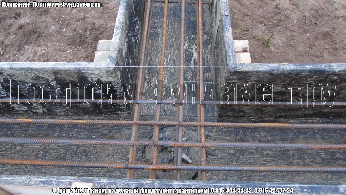 Фундамент ТИСЭ. Вязка арматуры в фундаменте - фото 13