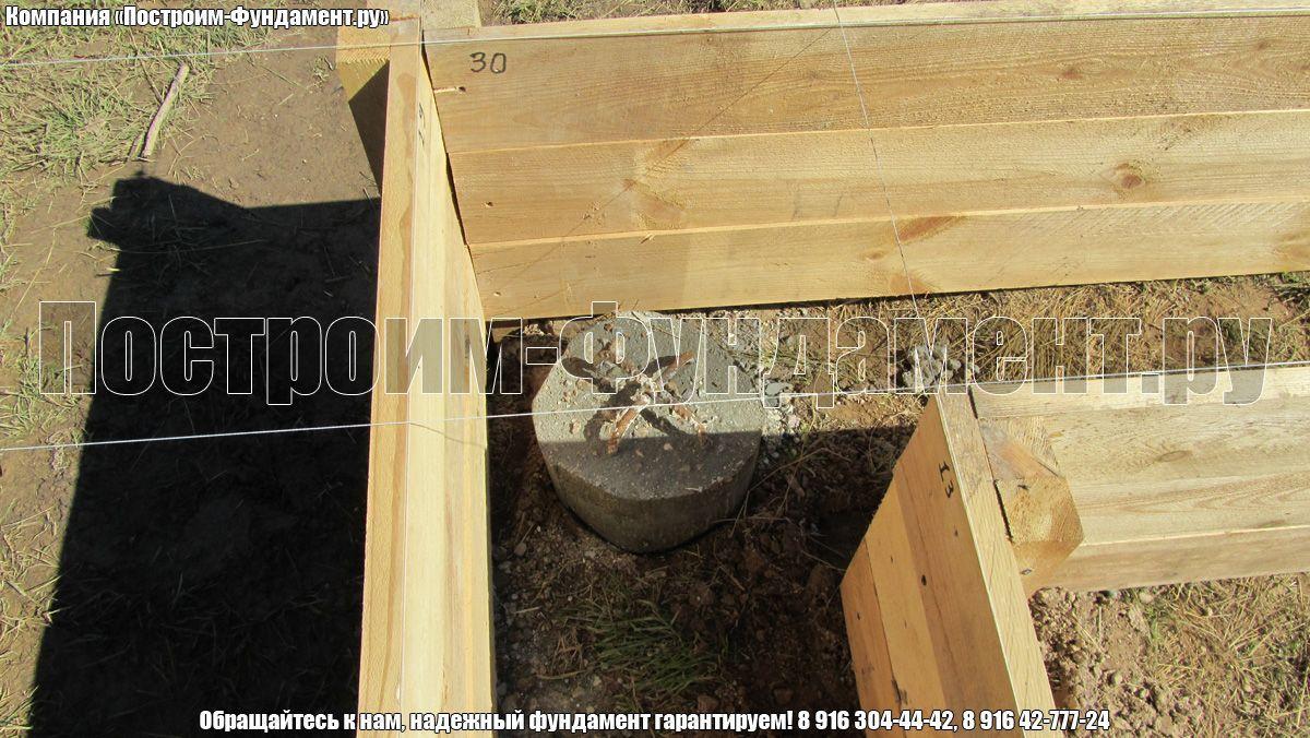 Фундамет ТИСЭ. Строительство опалубки - фото 12
