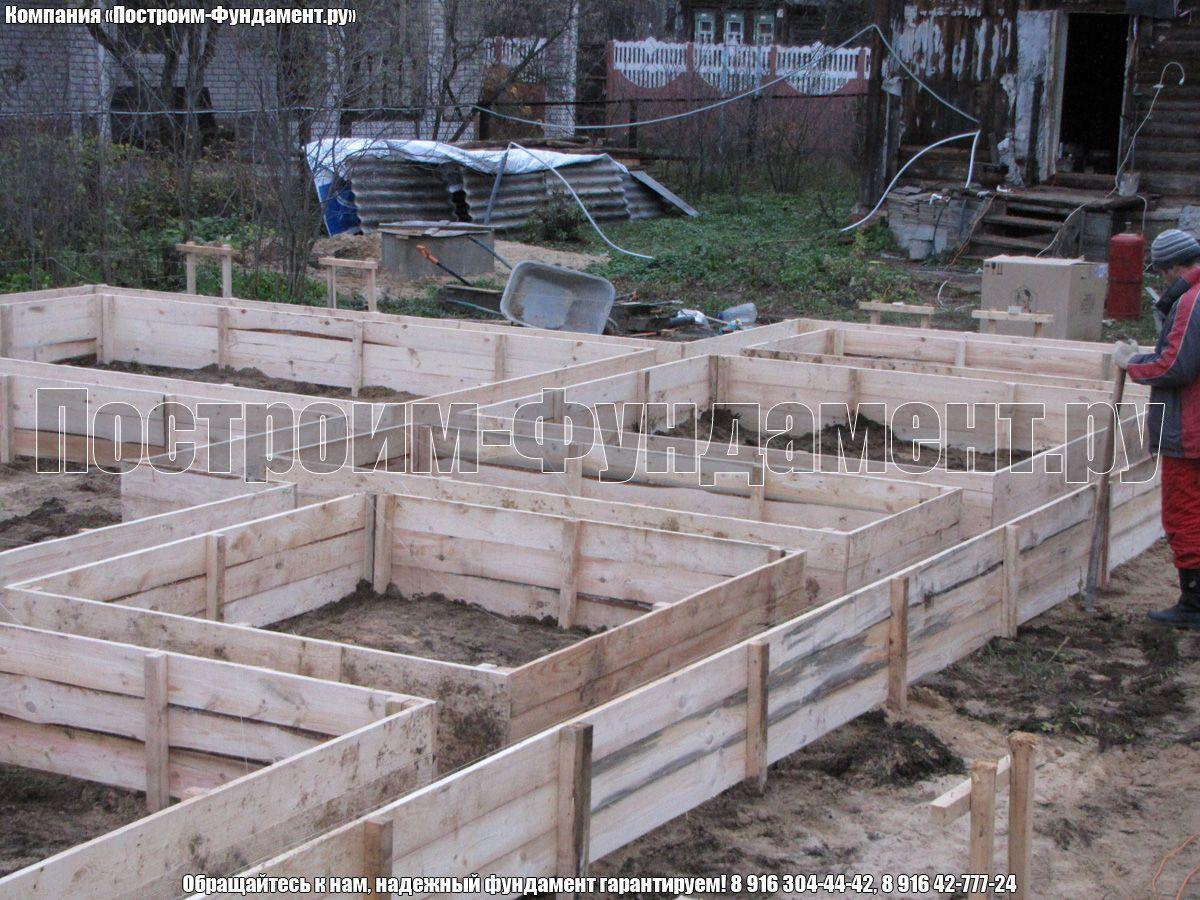 Строительство опалубки - фото 16