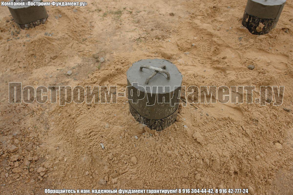 Сваи ТИСЭ вывод из земли 10-30 см - фото 26