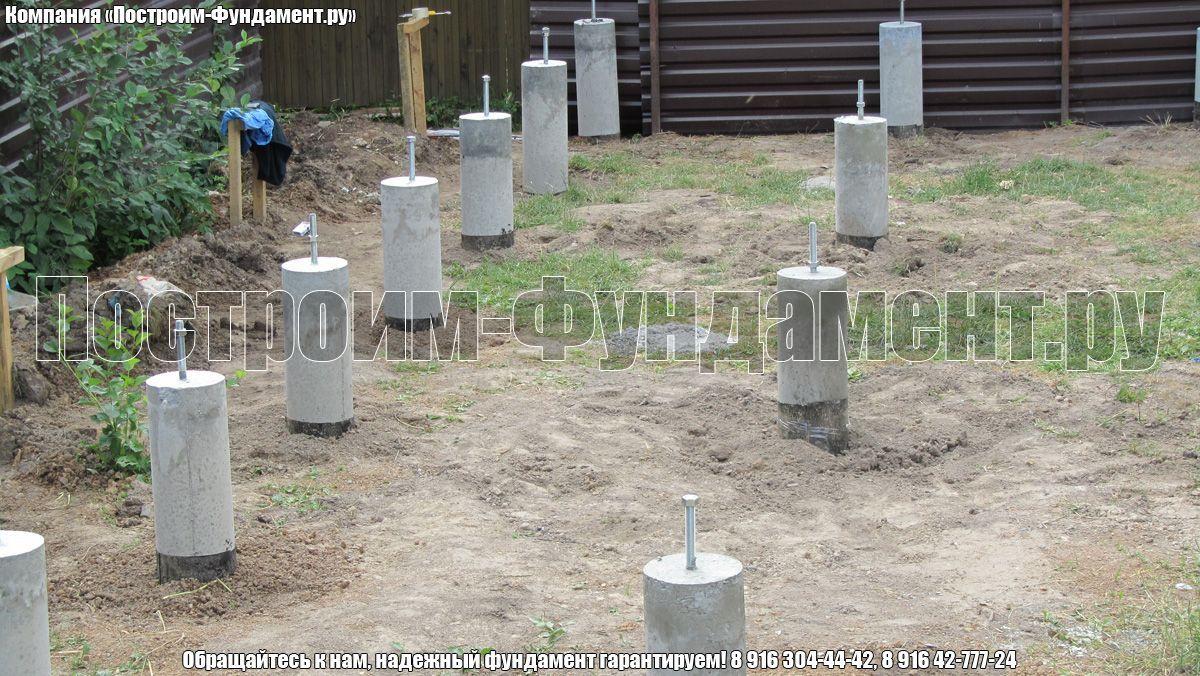 Сваи ТИСЭ без бетонного ростверка - фото 5